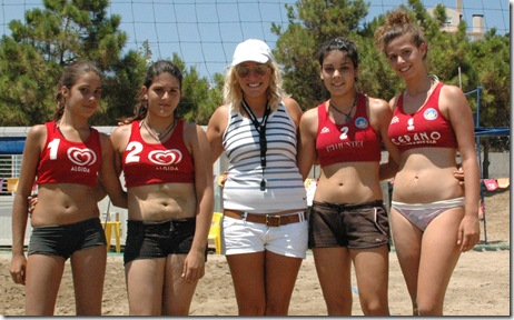 στο τρίτο σετ κρίθηκε και ο τελικός στα κορίτσια (Κ15) με τις Χρυσάνθη Μαθιουδάκη και Εμμανουέλλα Βολονάκη να κερδίζουν τις Νένα Κουκουγκέλη και Ελισάβετ Αμορανίτη