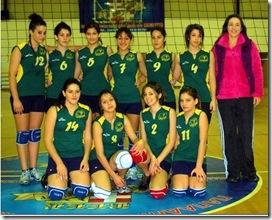 ΡΣΦΠ Τελχινίς: 2η θέση στο πρωτάθλημα Νεανίδων